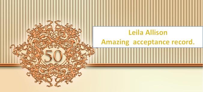 50 acceptances